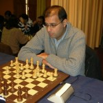GM Hicham Hamdouchi (strikingly similar in appearance to GM Anand)
